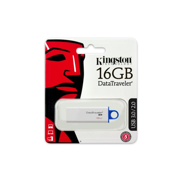 PEN DRIVE 16GB KINGSTON USB 3.0