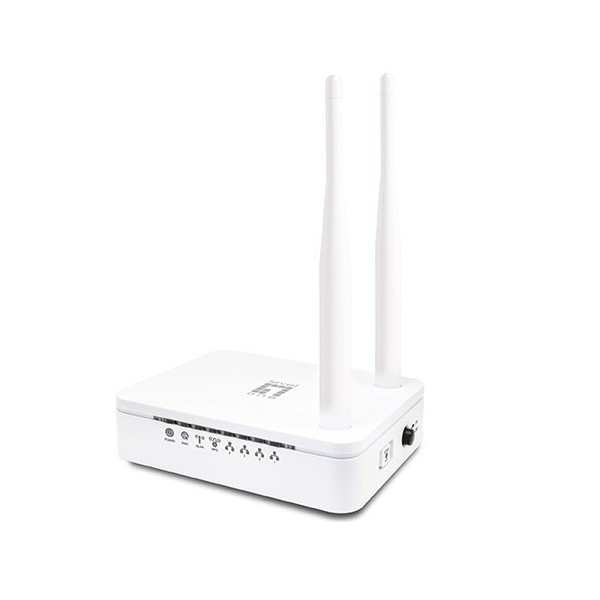 ROUTER WIFI LEVEL ONE 300N 4P ETHERNET 2 ANTENAS