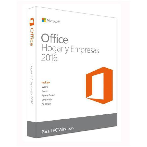 MICROSOFT OFFICE 2016 HOME & BUSINESS 1PC CAJA ESD